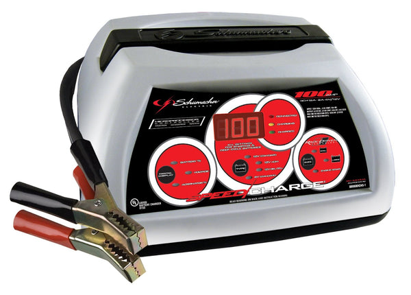 Schumacher SC-10030A SpeedCharge Automatic Charger And Maintainer, 12 V