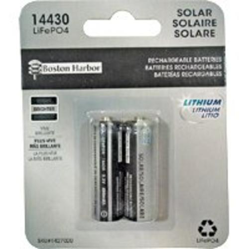 Boston Harbor BTLP14430400-D2 Solar Lighting Batteries, 400 mAh