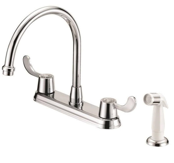 Boston Harbor F8F10037CP Two Handle Kitchen Faucets, Chrome