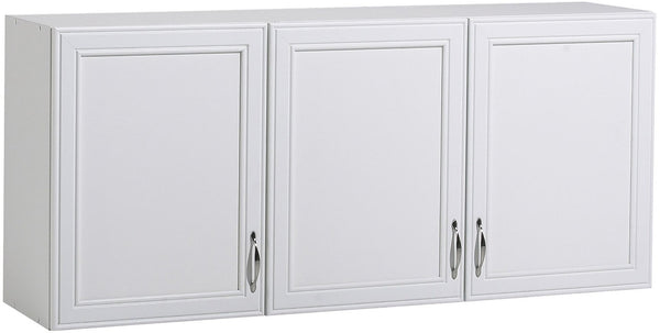 AkadaHOME ST102938A 3 Door Wall Cabinet, White