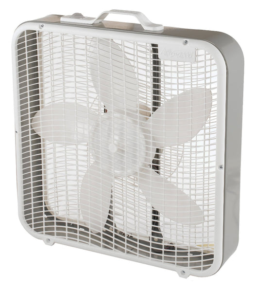 Aerospeed BX100 High Performance Box Fan with Handle, 5-Blades, 3-Speeds, 20""