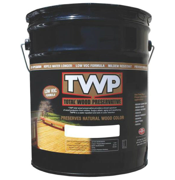 TWP TWP-1520-5 Stain & Wood Preservative, 5 Gallon