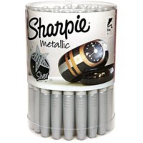 Sharpie 9597 Permanent Marker Canister, Silver