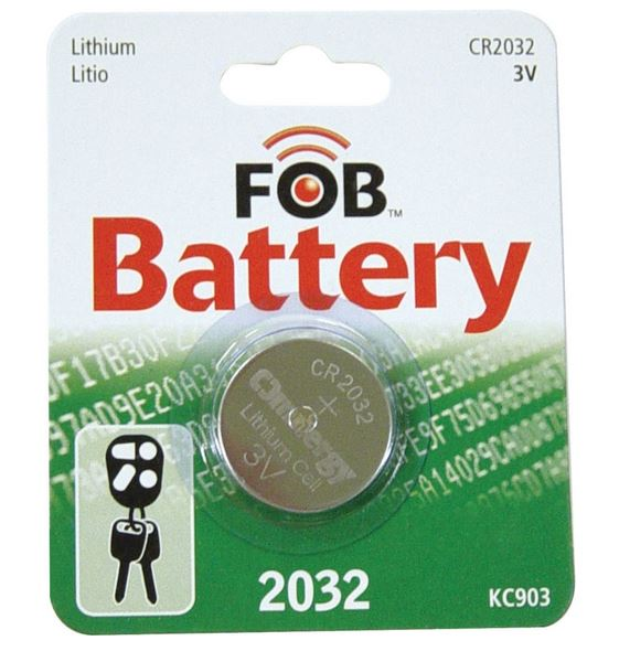 Hy-Ko KC903 Fob Remote Battery, 3 Volt