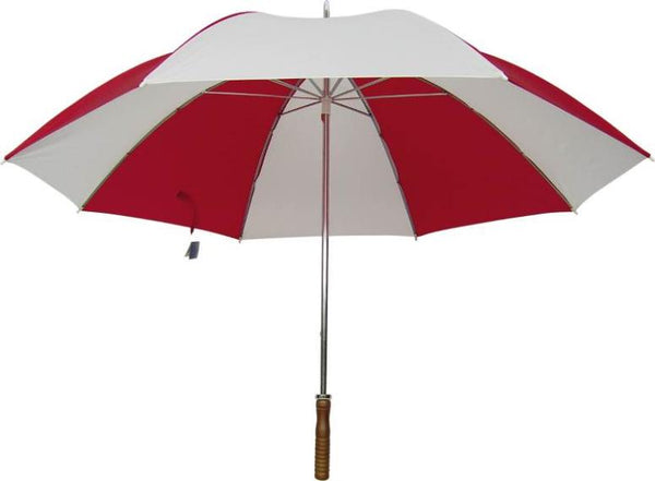 "Homebasix TF-06 Golf Umbrella, 29"", Red & White"