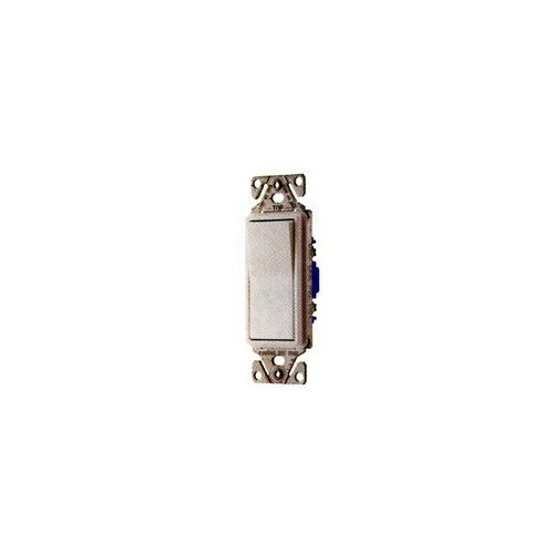 Cooper Wiring 7504V-BOX 4 Way Quiet Rocker Switch, 120/227V, Ivory