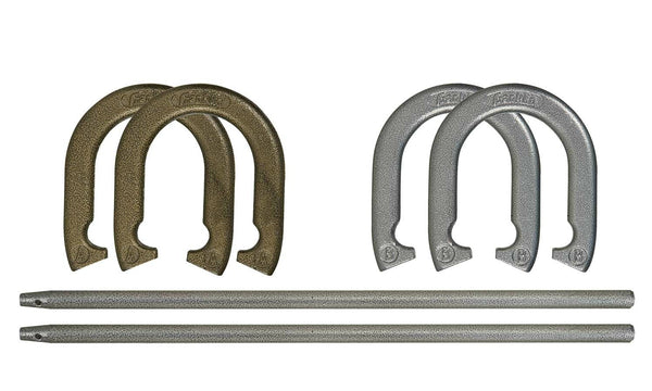 Franklin 50000 Recreational Horseshoe Sets, Gold/Silver