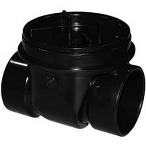 "Oatey 43905 ABS Backwater Valve, 3"", Black"