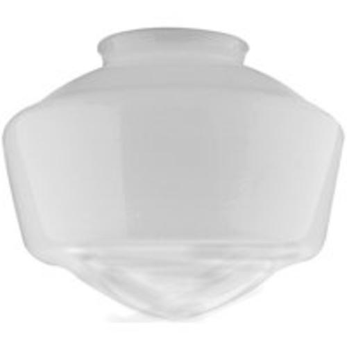 "Westinghouse 8552800 Opal Schoolhouse Light Globe, 7"" H, 8-1/2"" D"