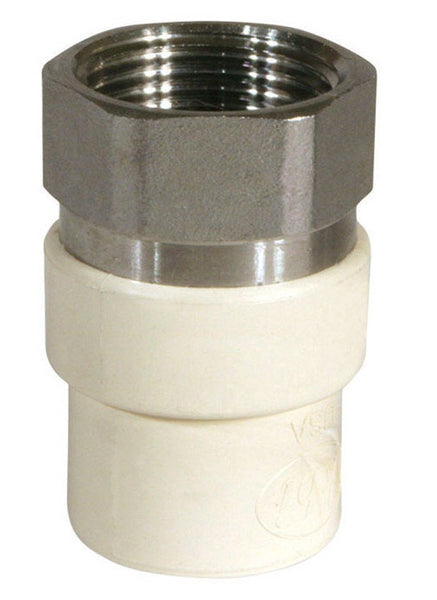 "Kbi 57905S/TFS0500 Pipe Transition Adapter, 1/2"", 100 PSI"