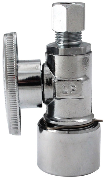 Plumb Pak K2636PCPO Quarter Turn Quick Lock Straight Valve