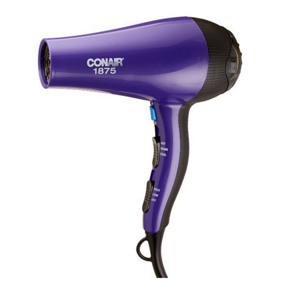 Conair 121ND Ionic Ceramic Styler Hair Dryer, 1875 W, 3 Heat/2 Speed Setting