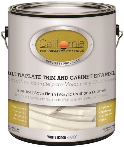 California Paints 52911-1 Ultraplate Trim and Cabinet Paint, 1 Gallon