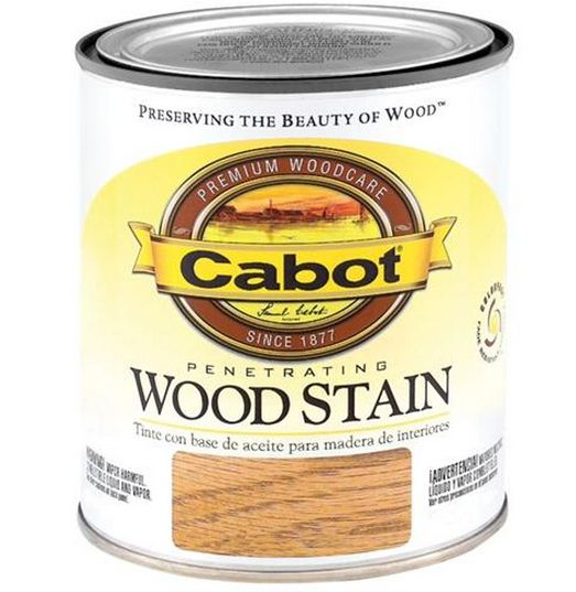 Cabot 8138 Interior Oil Wood Stain, 1/2 Pint, Maple