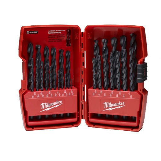 Milwaukee 48-89-2802 Thunderbolt Black Oxide Drill Bit Set