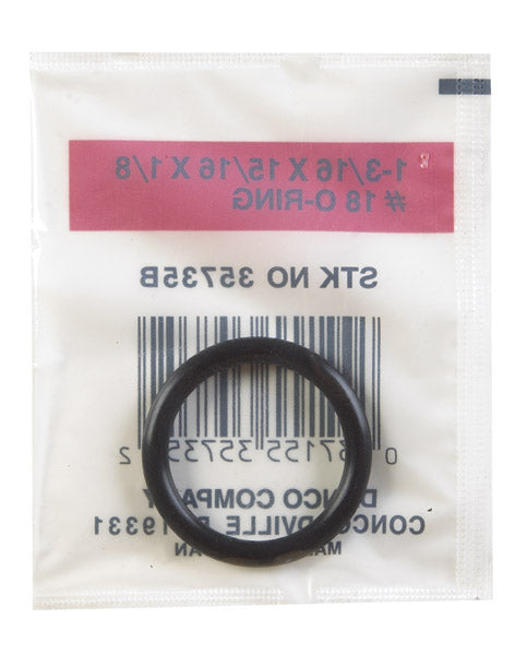 "Danco 35735B O-Ring, 1-3/16"" OD. x 15/16"" ID. x 1/8"""
