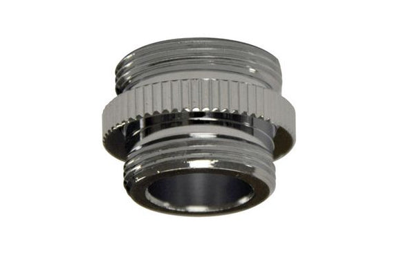"Danco 9D00010516 Male Adapter, 3/8"" -18 IPSM  x 55/64""-27 M"