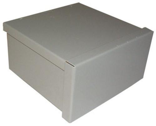 "Raco RSC080804RC Rainproof Screw Cover Box, Gray, 8"" x 8"" x 4"""