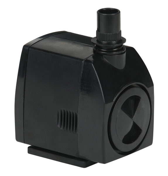 Little Giant PES 566717 Pond Statuary Fountain Pump, 300 GPH