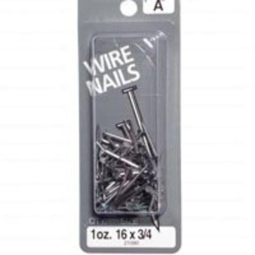 "Midwest 21580 Wire Nails, 16"" x 3/4"""