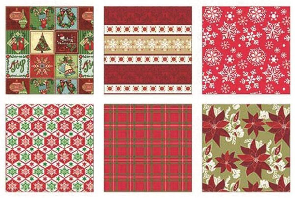 "Holiday Basix 68103 Traditional Gift Wrap, 30"" W"