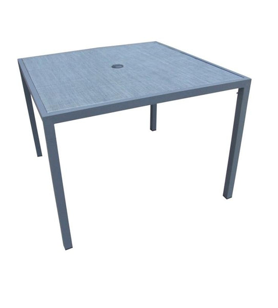 Seasonal Trends T2633B3 Milan Table, Aluminum