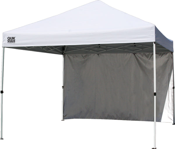 Quik Shade 157398 Commercial 100 Instant Canopy, White