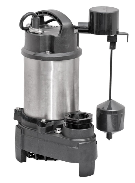 Superior Pump 92751 3/4 HP Sump Pump, 7.5 Amps