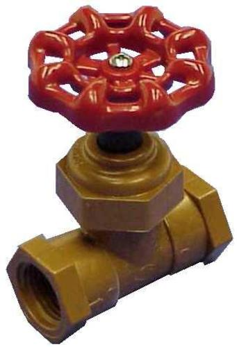 "King Brothers SCL-0750-T Celcon Stop Valve 3/4""X3/4"""