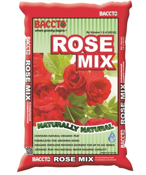 Baccto 1915 Rose Mix Organic Soil, 1.5 cu.ft.