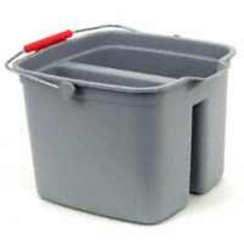 Newell Rubbermaid  2617 00 GRAY Plastic Gray Double Pail