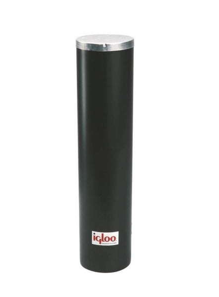 "Igloo 00008242 Water Cooler Plastic Cup Dispenser 13.75"" x 10.38"" x 17"", Black"
