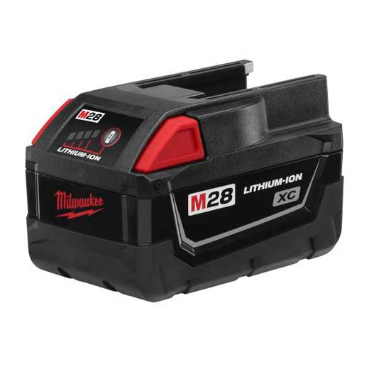 Milwaukee M28 Series 48-11-2830 Cordless Tool Battery, 28 Volt