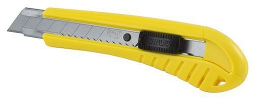Stanley 10-280 Snap Off Knife, 18 mm