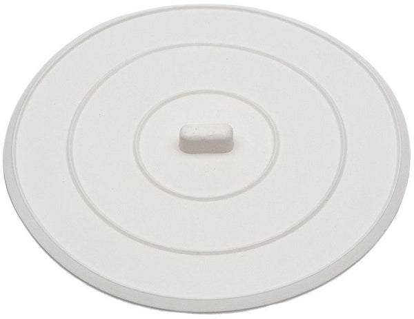 "Danco 89042 Flat Suction Sink Stopper, 5"", White"