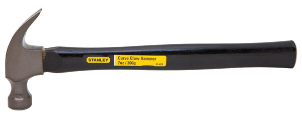 Stanley 51-613 Curved Claw Hammer 7 Oz, Wood Handle