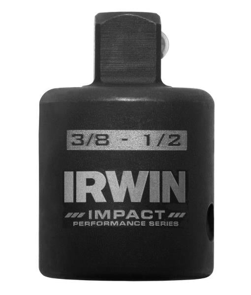 "Irwin 1877498 Impact Deep Well Square Drive Socket Reducer, 1/2""-3/8"""