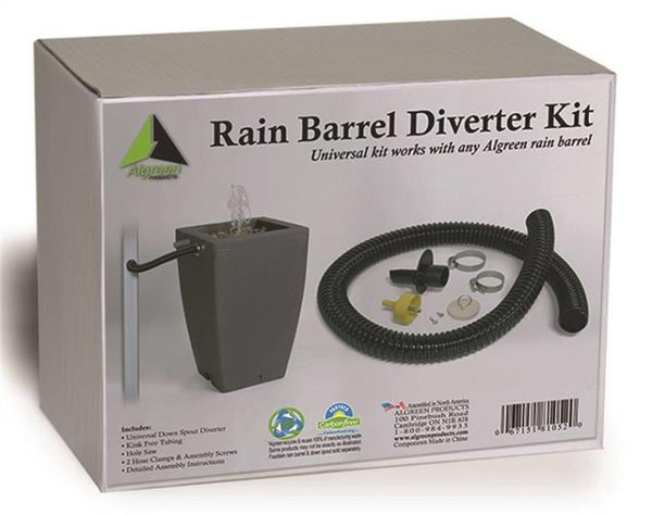 Algreen 81052 Diverter Kit For Rain Barrel