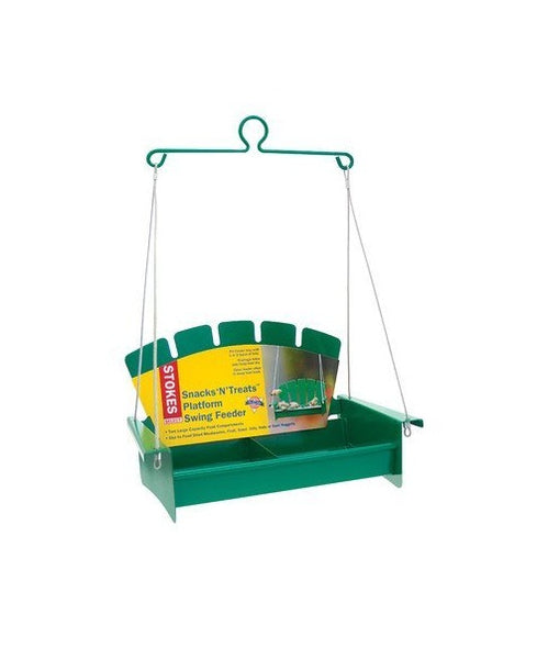 Stokes Select 38267 Snacks 'N' Treats Platform Swing Bird Feeder