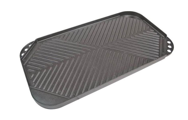 "GrillPro 91652 Non-Stick Aluminum Grill Griddle, 19"" X 10.75"""