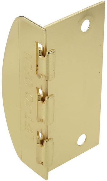 National Hardware N183-608 V808 Flip Lock, Brass
