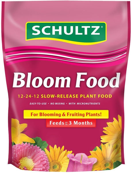 Schultz SPF48270 Bloom Food Slow-Release Plant Food, 12-24-12, 3.5 lbs
