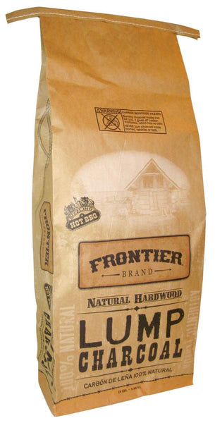 Frontier 195-341-302 100% Natural Hardwood Lump Charcoal, 20 Lb
