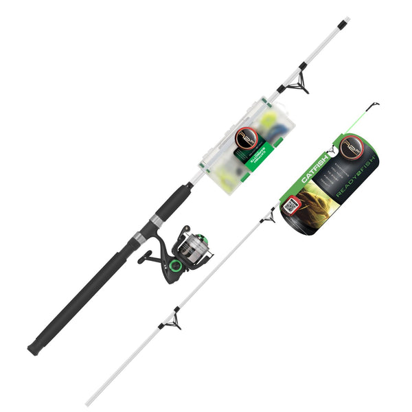 South Bend R2F2-CF/S Ready 2 Fish Catfish Spin Rod and Reel Combo