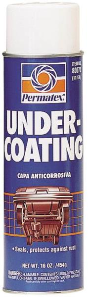Permatex 80072 Car Undercoating, 16 Oz