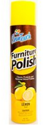 Clean Touch 9670 Furniture Polish, Lemon, 10 Oz