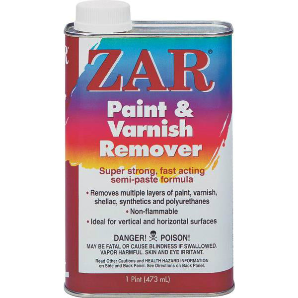 Zar 40011 Paint And Varnish Remover, Pint