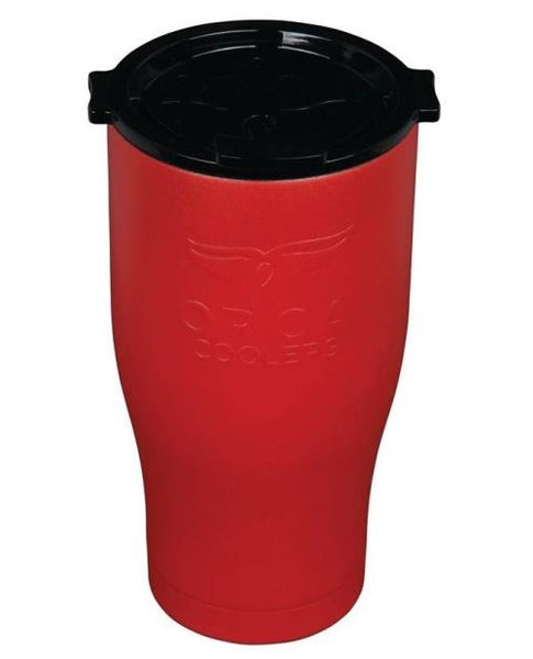 Orca ORCCHA27RE/BLK Drinkware Vacuum Mug, Red/Black, 27 OZ