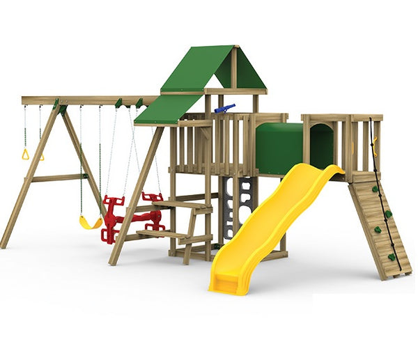 Playstar PS 7481 Ready-to-Assemble Playset, 23 sq-ft