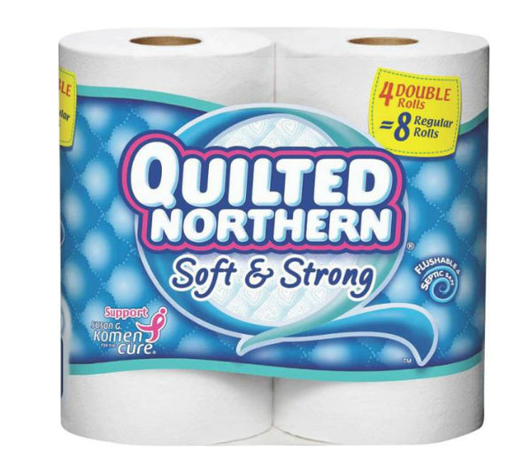 Quilted Northern 96361 Ultra Soft & Strong Bathroom Tissue, 2-Ply